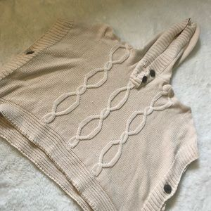 OLD NAVY sweater poncho size small